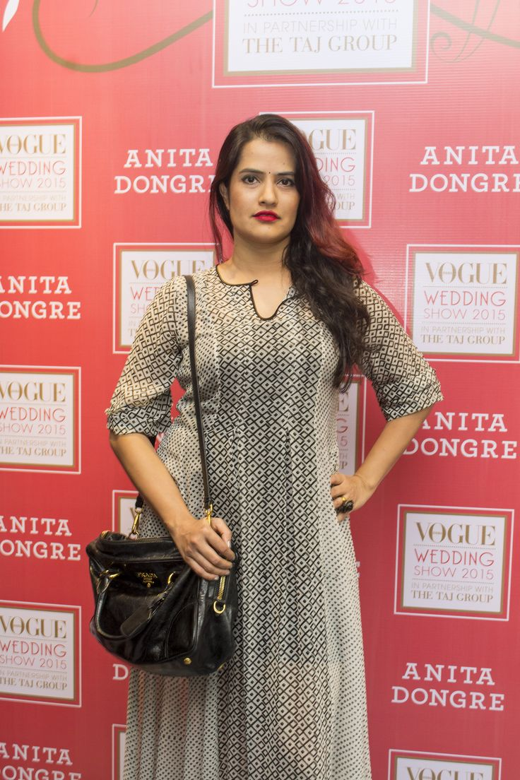 Singer, Soha Mohapatra in a #block #printed #tunic by #AnitaDongre.