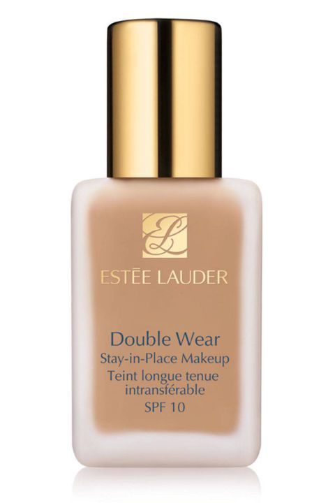 Estée Lauder's budge-proof foundation is one of the few we've tried that allows us to pull a shirt over our heads without leaving any telltale makeup marks. The oil-free liquid offers buildable coverage and retains its beautiful velvety-matte finish even through a day outdoors. Bonus: It's available in an impressive 31 shades to suit a whole spectrum of skin tones.  Estée Lauder Double Wear Stay-in-Place Makeup, $37; nordstrom.com