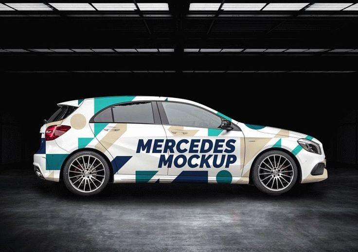 Free Top A Class Car Mockups Mockupfree Co Mockup Mercedes A Class Mockup Downloads