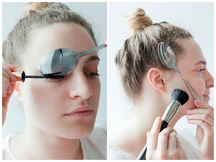 Trucos de belleza con una cuchara, ¡consigue un maquillaje perfecto!