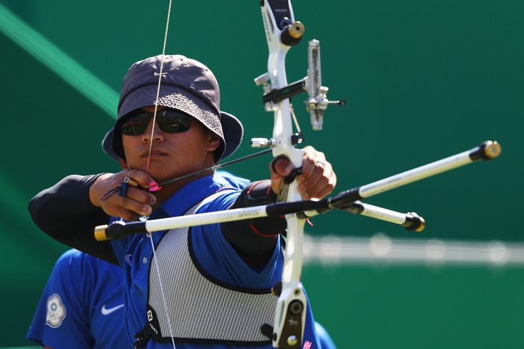 Day 1: Archery Men's Team - Hao-Wen Kao of Team Chinese Taipei