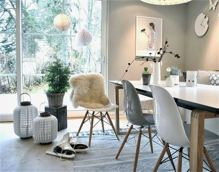 Salle A Manger Scandinave Home Living Room Home And Living Modern Dining Room