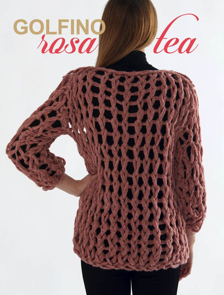 Arm Knitting pullover