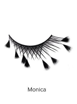 Create Cosmetics' dramatic lashes. Love!