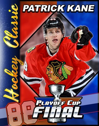 You can collect KANE CARDS in Patrick Kane's Hockey Classic, here's #7 - THAT'S HOCKEY BABY!