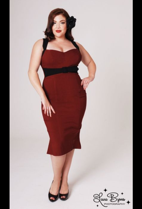 pin up girl dresses plus size