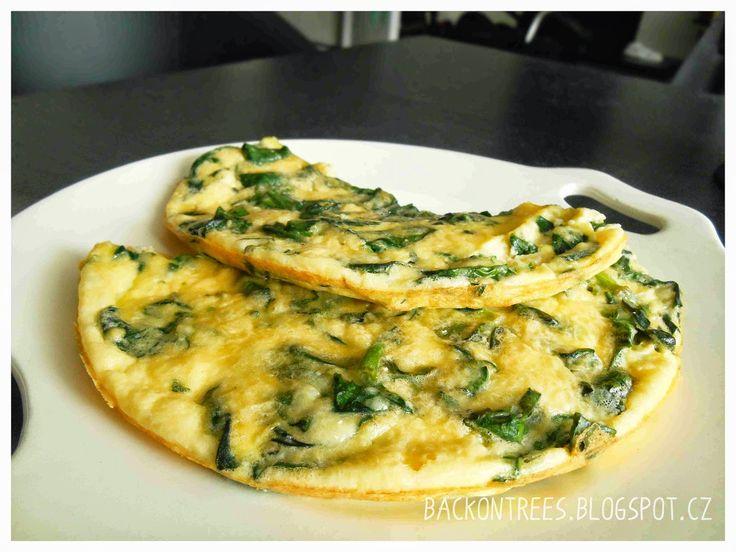 Vaření pro miminka i maminky: Špenát a špenátová omeleta