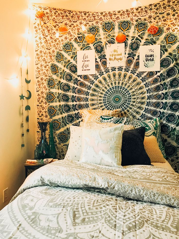 Mermaid Vibes✨ Blue Moon Phase Wall Hanging, Vitamin Sea Mandala Tapestry, Mandala Pillow Covers & many more ☽ ✩ Save 25% off all orders with code PINTERESTXO at checkout | Shop Now LadyScorpio101.com | Design By Kaitlyn Johnson @kaitlynjohnsondesign | @saltykai | @LadyScorpio101