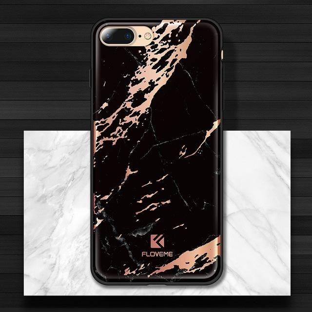 Unique Design Marble Phone  Cases For iPhones - Kaptelli Store