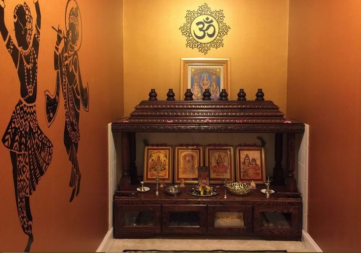 Pooja Room Designs in Living Room. You deserve admirable things in your life, step into Perfect 10. Know more: bit.ly/1MANxb5 #Pune #Home #Punecity