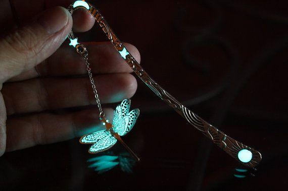 Dragonfly nuevos marcadores brillan en la oscuridad por Papillon9