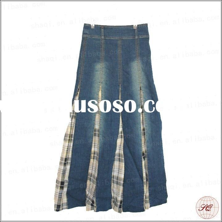 Women's Juniors Mid Rise A-Line Long Jeans Maxi Denim Skirt. Fashion2Love helps you stay in budget and look great and Stylish with these soft stretchy denim skirt that hugs your body and enhance your curves, This Amazing skirt is both slimming m and fashionable.