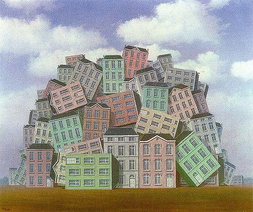 El pecho - 1961 - Rene Magritte