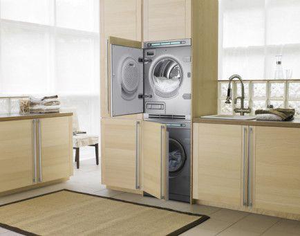 Integrert vaskemaskin og tørketrommel