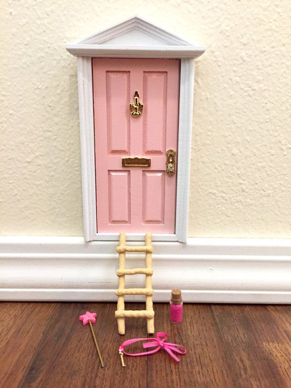 Trolls Bedroom Ideas: Fairy Door, Tooth Fairy Door, Magical Fairy Door, Fairy