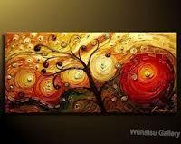 pinturas al oleo abstractas contemporaneas - Buscar con Google
