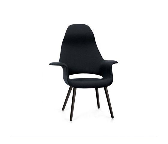 Vitra Organic Chair | Charles Eames, Eero Saarinen | 1940 | armchair
