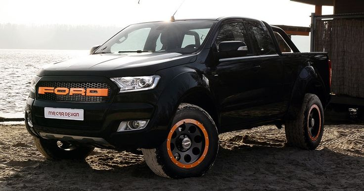 Ford Ranger Truck Muscled Up By MR Car Design #Ford #Ford_Ranger