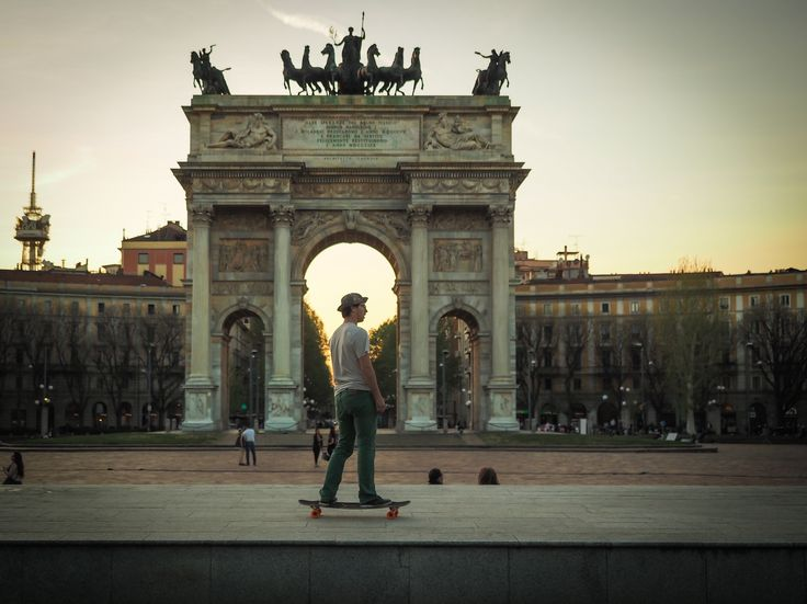 Sunday dreaming #PeaceArch #ArcoDellaPace #PortaSempione #Milan