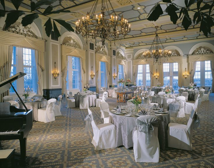 Canada's Loveliest Wedding Venues: The Fairmont Hotel Macdonald - Edmonton, Alberta