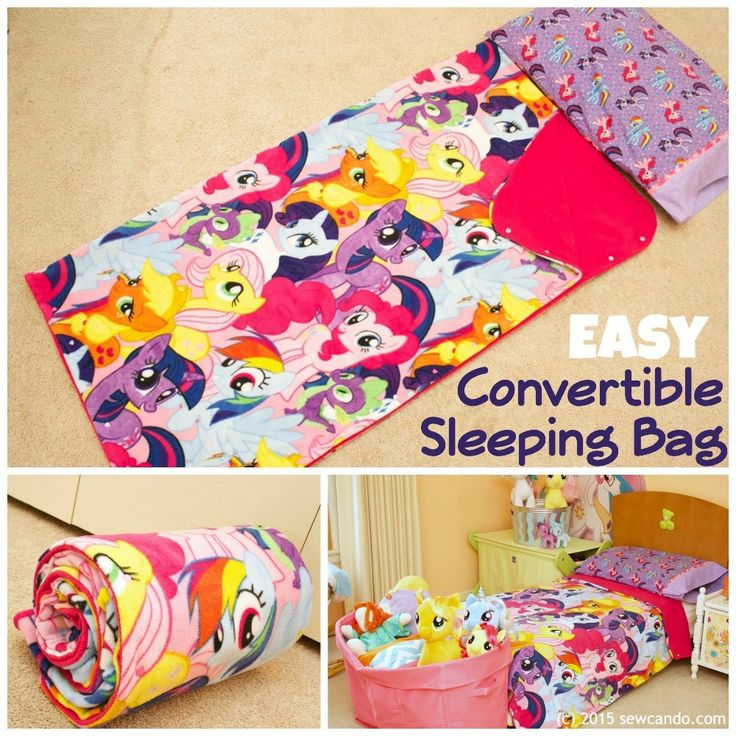 Sew Can Do Easy Convertible Sleeping Bag Tutorial With A