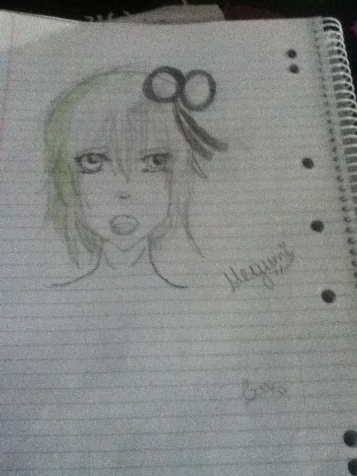 A new drawing of mine. ~Megumi