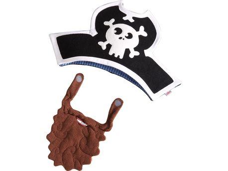 Kapitein Karel hoed en baard