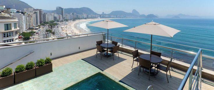 Orla Copacabana Hotel, Rio de Janeiro, Brazil