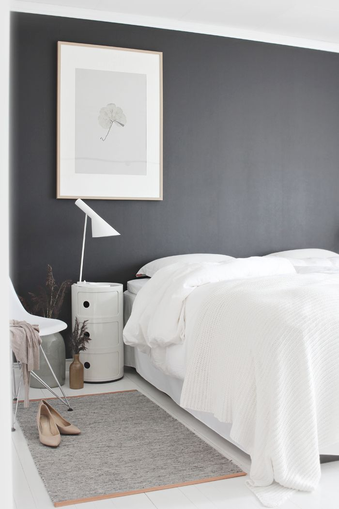 Black and white bedroom, stylizimo home, neutrals and contrasts