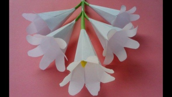 How To Make An Origami Flower How To Make Origami Paper Flowers