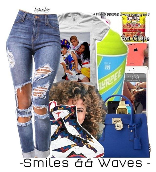1d6e8c4f90e34a jordan 5 blue suede bmf sweater  leah143love by leah143love liked on  polyvore featuring dope