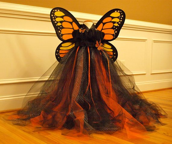 Monarch Butterfly Tutu Dress Costume for by ShopaholicandBabies, $100.00