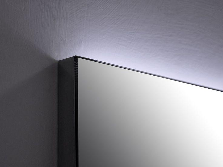 specchio a led rettangolare retroilluminato Backstage