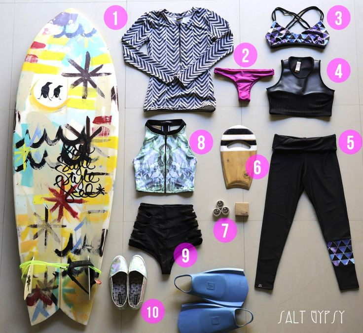 The Salt Gypsy Edit - our curated picks for style in the lineup. Celebrating indie surf labels making rad gear with mad steez we want to wear in the water.  www.saltgypsy.com :: Style in the lineup