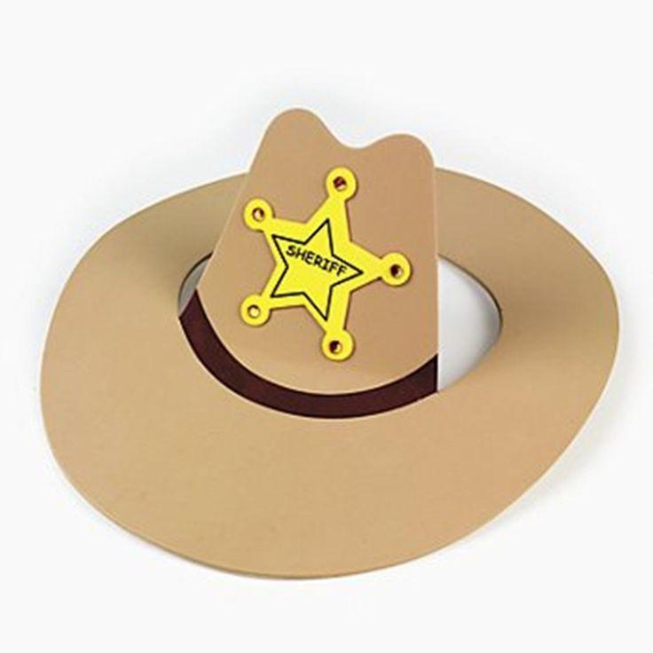 Foam Cowboy Hat Craft Kit - Makes 6 in Crafts, Children's Crafts   eBay