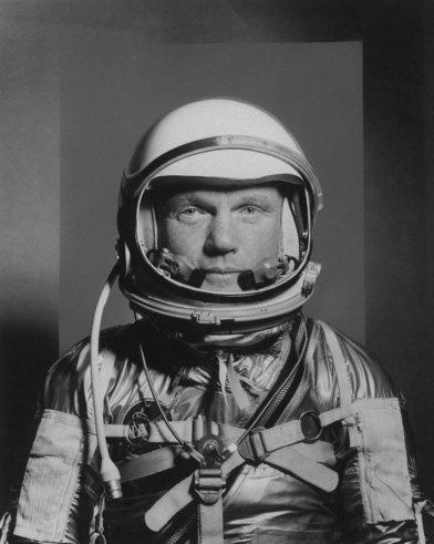 John Glenn, Project Mercury astronaut by Ralph Morse