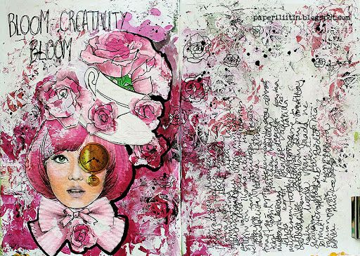 Bloom creativity bloom by Riikka Kovasin for Paperilla
