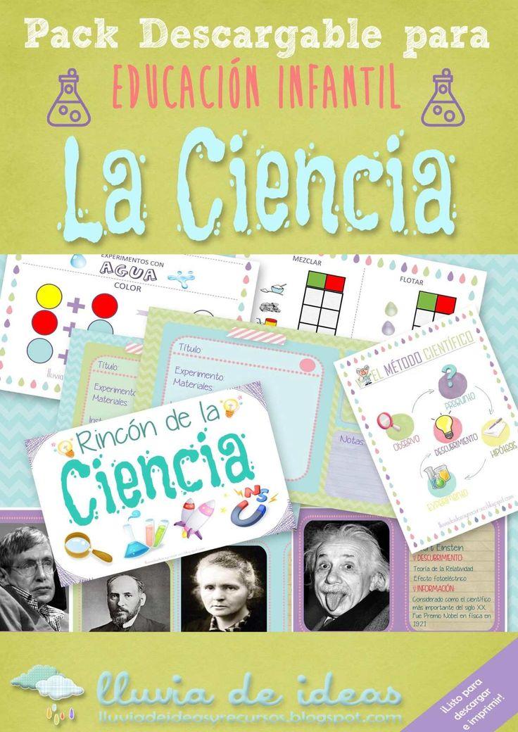 Pack descargable para Educación Infantil: La Ciencia