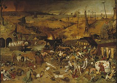 The Triumph of Death is an oil panel painting by Pieter Bruegel the Elder painted c. 1562