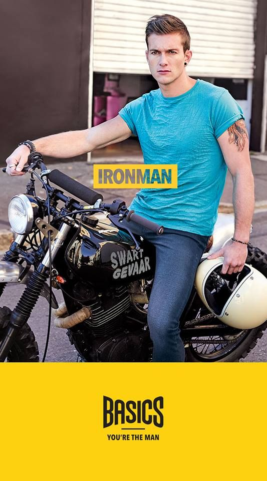 "SS 2015 Brand Campaign - IronMan for ""Basics"""