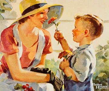 Mama's Darling Boy~Better Homes  Gardens Vintage Covers