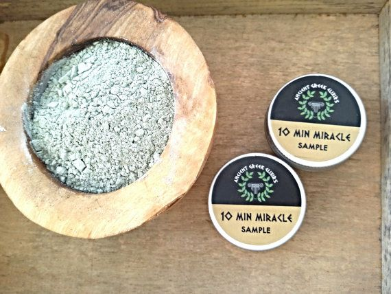 SAMPLE 10MINUTE MIRACLE Healing beauty mask by AncientGreekElixirs