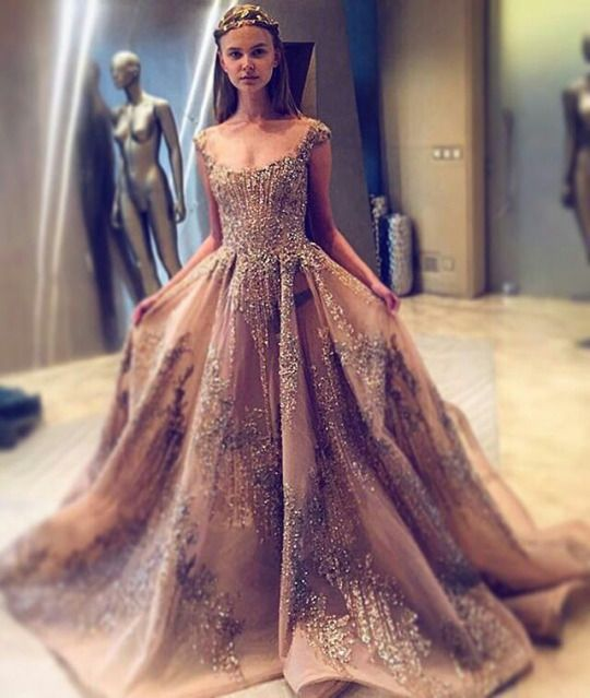 Ziad Nakad gown