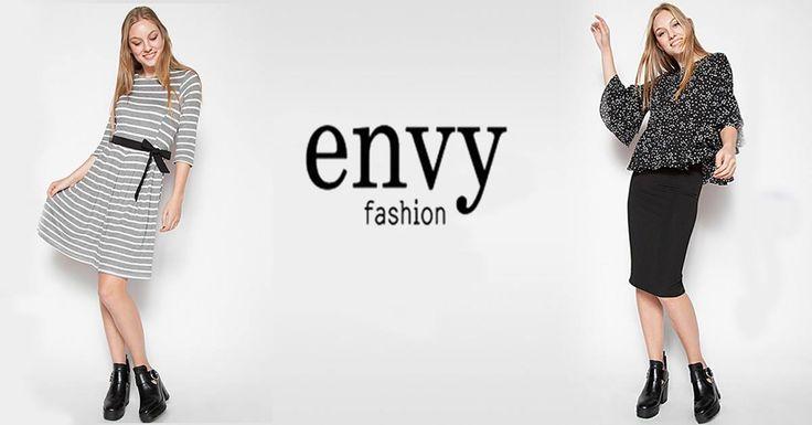 Η #aboutnet ανέλαβε το #socialmedia management των κοινωνικών μέσων δικτύωσης της εταιρίας γυναικείων ενδυμάτων Envy Fashion.