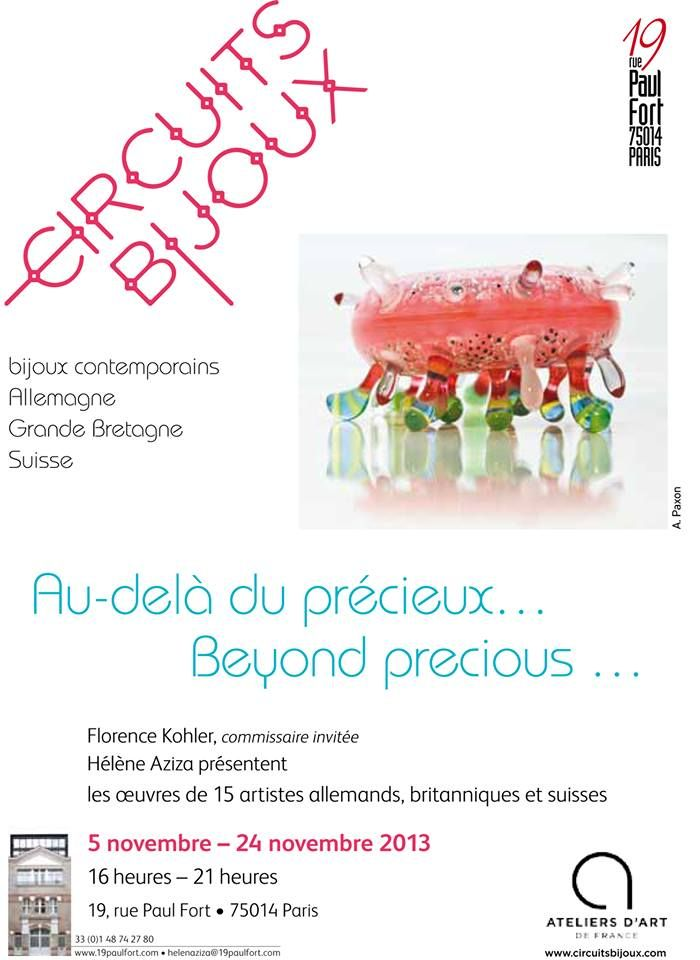 Beyond Precious - European jewels - 5-24 nov