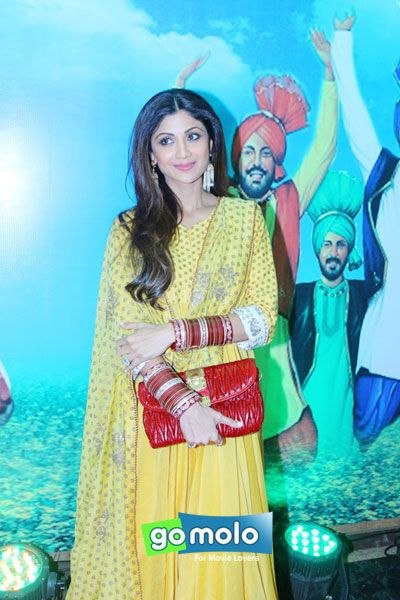 Shilpa Shetty Kundra at the celebration of Baisakhi festival 2015 in Mumbai