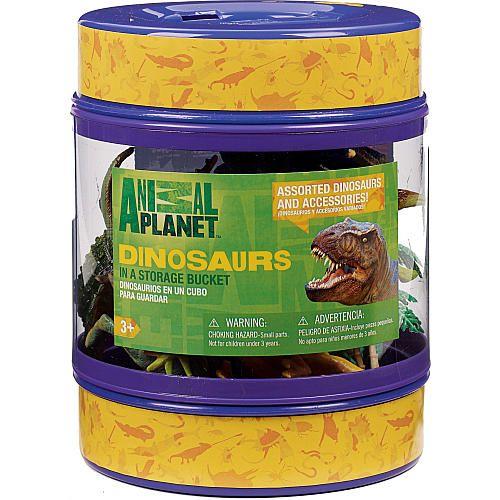"Animal Planet in a Storage Bucket - Dinosaur -  Toys R Us - Toys""R""Us"