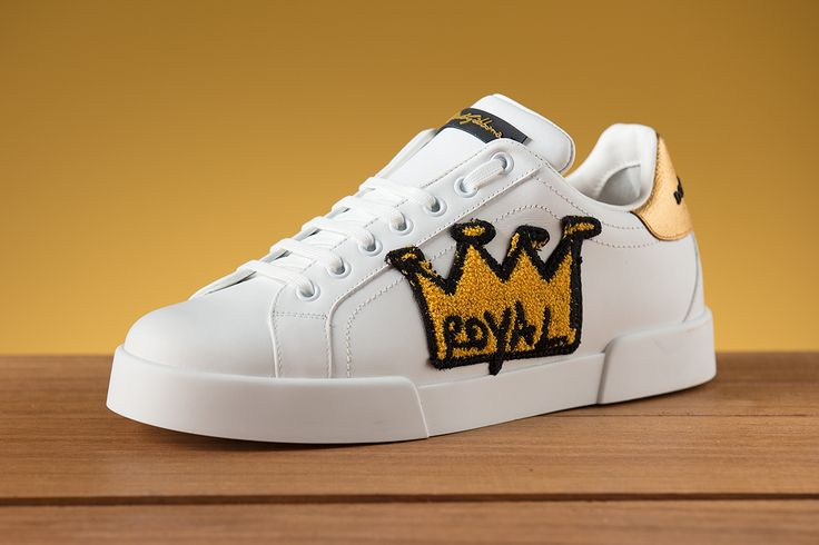 Keep it Royal in Dolce sneakers