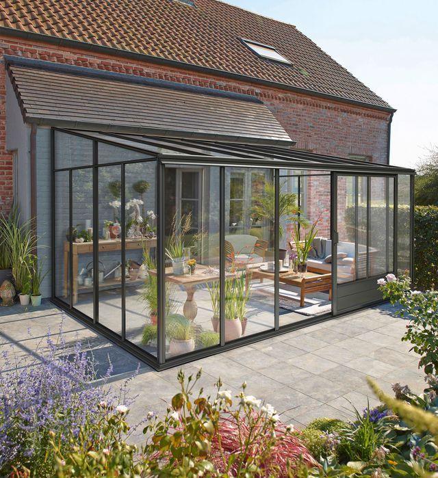 stunning veranda en kit jardin photos awesome interior home satellite. Black Bedroom Furniture Sets. Home Design Ideas