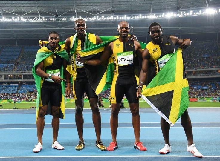 Jamaican runners Usain bolt